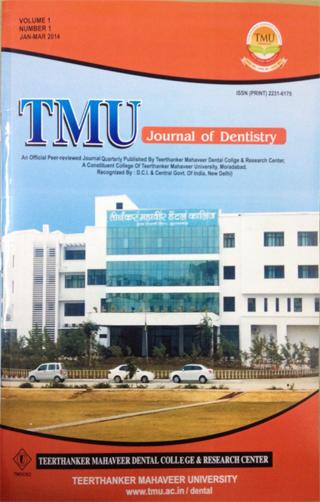 TMU Journal of Dentistry