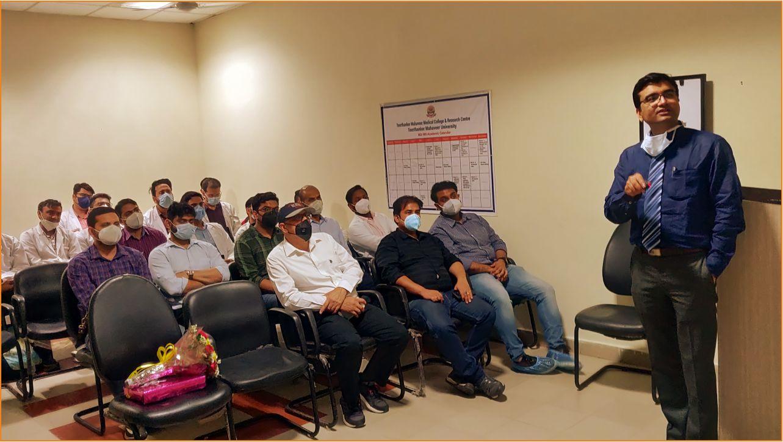 TMU Conducts workshop on Bone Tumors