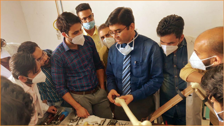 TMU's Department of Orthopaedics conducts a Workshop about Bone Tumors.