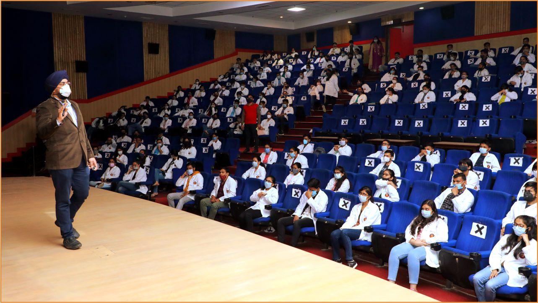 TMU's medical college organized Pharmabiz 2020-21