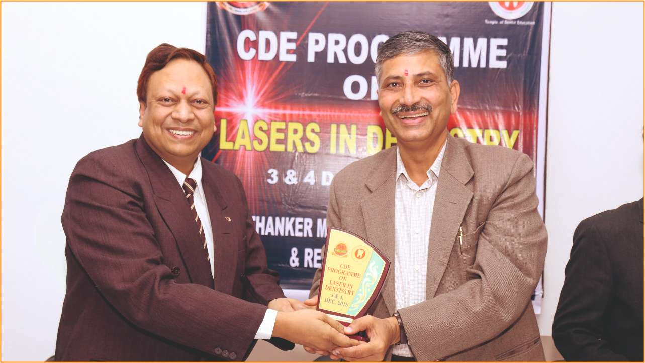 CDE ON LASERS IN DENTISTRY