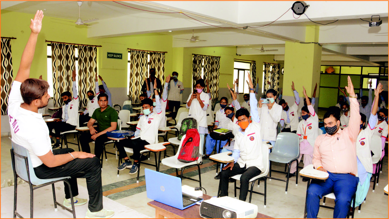 """REPORT OF NSS ACTIVITY- """"MINDFUL MEDITATION SESSION"""""""