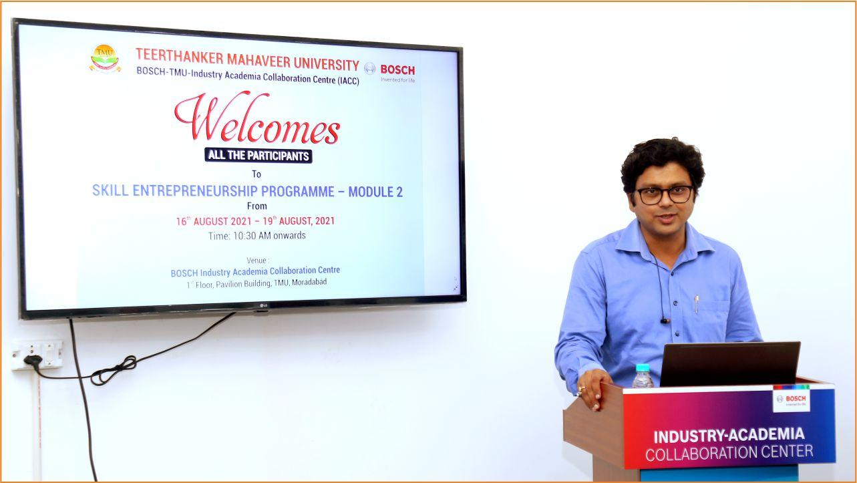 Inauguration of Bosch Skill Entrepreneurship Programme  TMU
