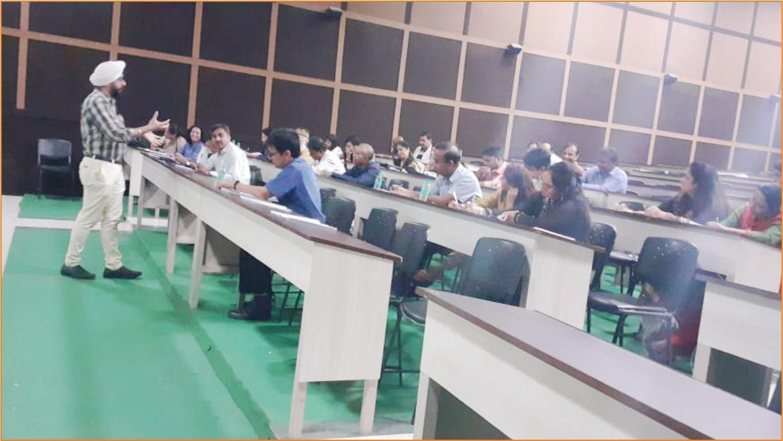 Teerthanker medical College AETCOM Workshop 2019