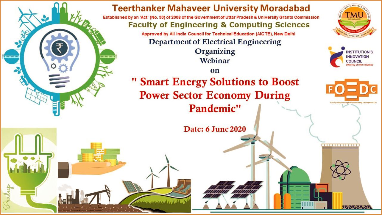 Smart Energy Solutions to Boost Power Sector Economy During Pandemi