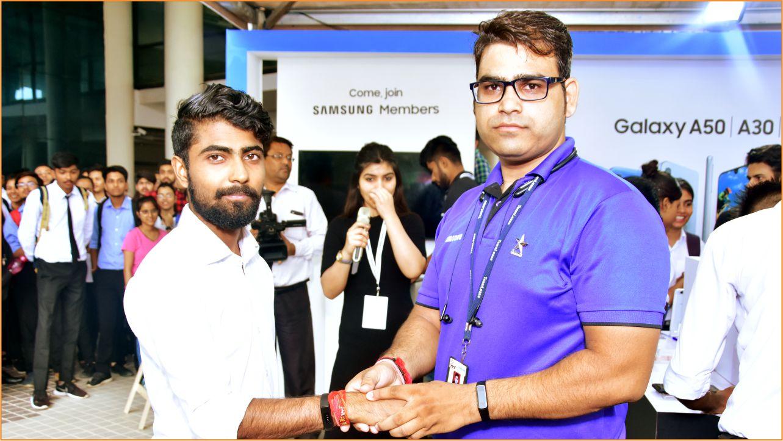 Teerthanker Mahaveer College- Samsung Brand Event