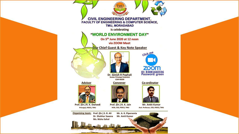 Webinar Held on World Environment Day