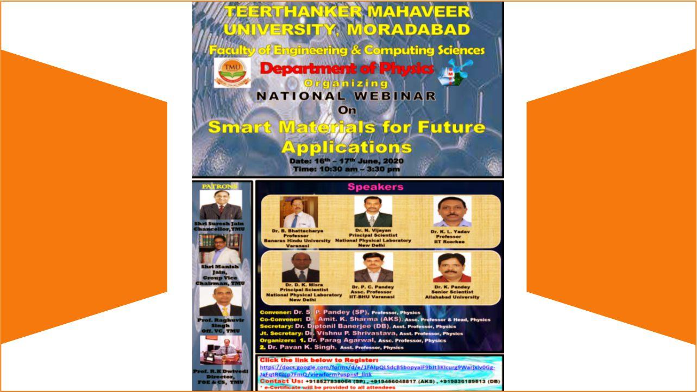 Smart Materials for Future Applications
