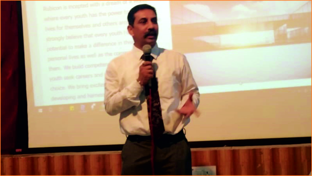 """Workshop On """"Career Counseling"""" by Mr. Siddharth (Mahindra Education)"""