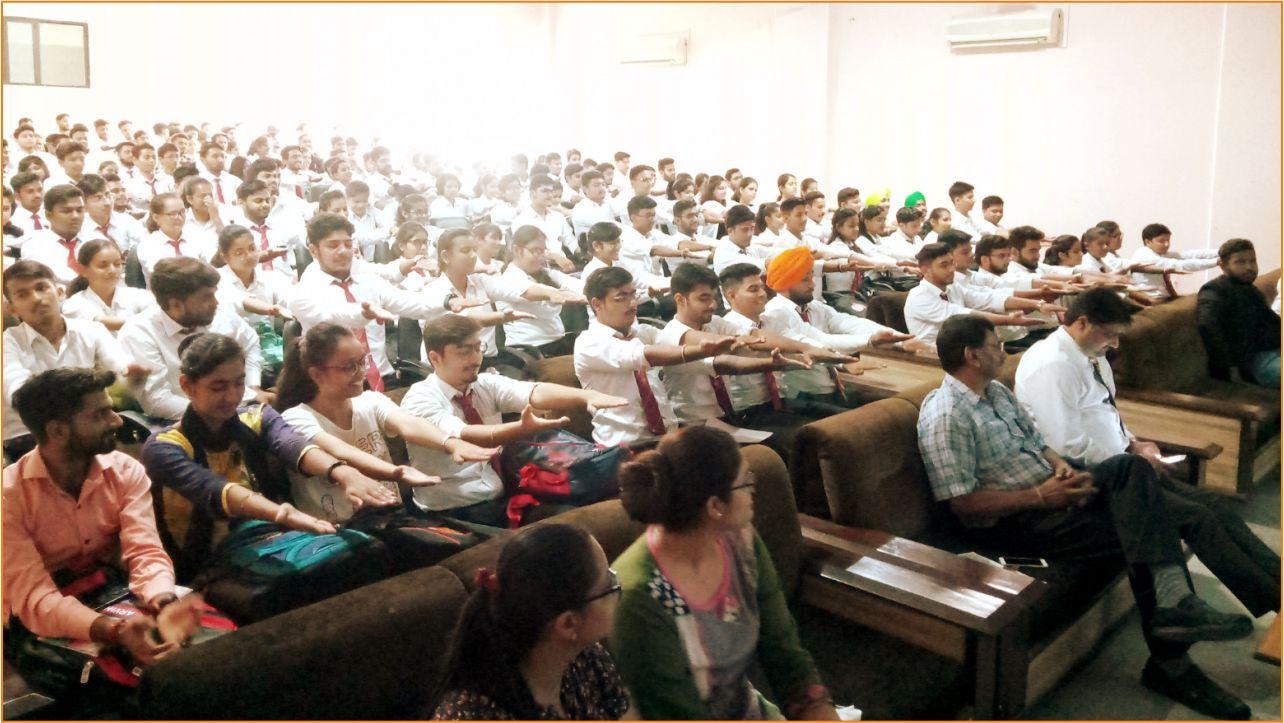Motivational Worshop by MR Ashutosh Pratihas