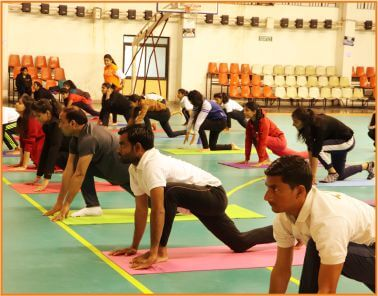 Yoga Session 2020- Best college of Physical Education