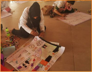 Poster Making Competition at best agriculture college in india