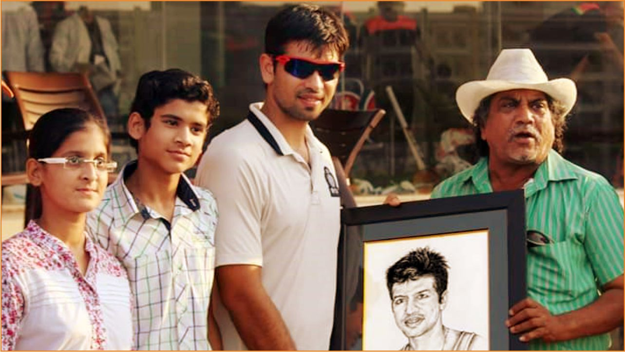 Portrait gifted to Mr. Naman Ojha