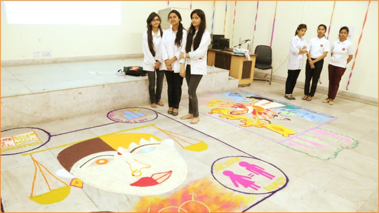 Rangoli Competition on Gender Equality
