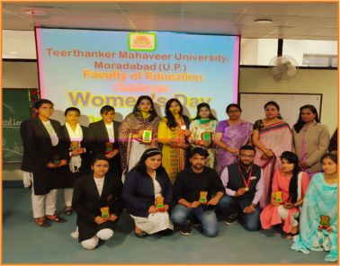 Womens Day- Teerthanker Mahaveer University