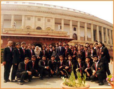 Parliament Visit- TMIMT College of Management