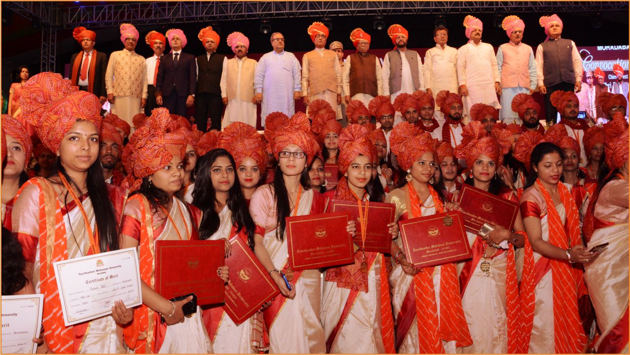 Teerthanker Mahaveer conducts Fourth Convocation Function