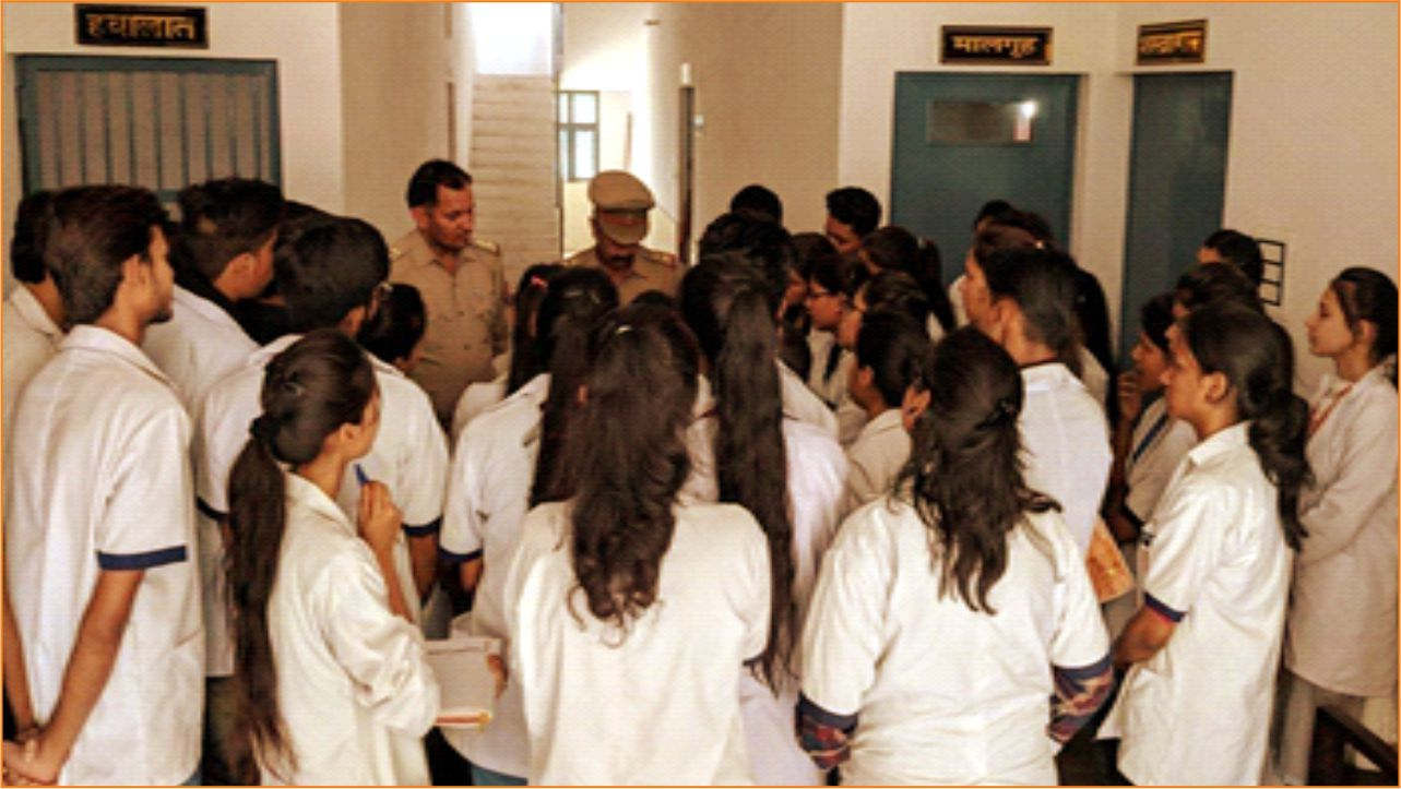 Outdoor Visit organized by Department of Forensic Science